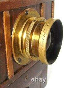 Chambre Photogaphique 12x9 Tres Belle. Anastigmat Symetrique 6 Verres Luminor