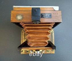 Chambre Photographique Folding Gaumont type C format 9X12