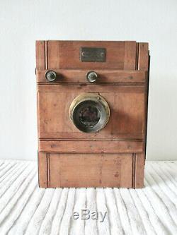 Chambre Photographique en Bois Charles Mendel, Paris
