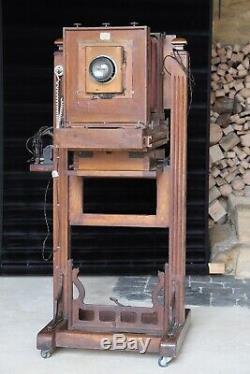 Chambre d'atelier en bois Gilles Faller 1920 Berthiot Eurygraphe Boyer