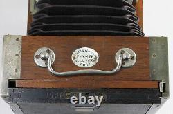 Chambre de voyage F JONTE 124-126 RUE LAFAYETTE PARIS Obj Berthiot France 1890