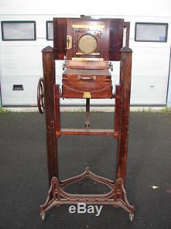 Chambre photographie appareil photo antique Dallmeyer appareil ancien photo
