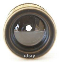 Chambre photographique 13x18 soufflet cuir, objectif