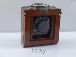 Chambre photographique 9X12 LORILLON Lacour-Berthiot Paris Eurigraph N°1