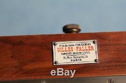 Chambre photographique Gilles-Faller avec objectif Hermagis N° 7
