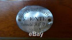 Chambre photographique à soufflets marque Jonte XIXème