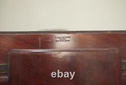 Chambre photographique ancienne en acajou Makenstein Format 24cm X 30cm