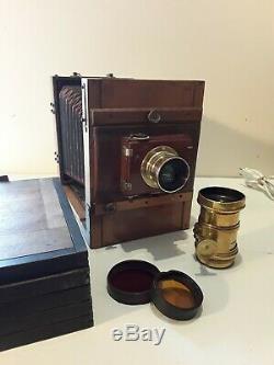 Chambre photographique bois