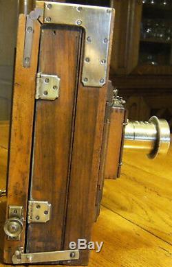 Chambre photographique bois-laiton