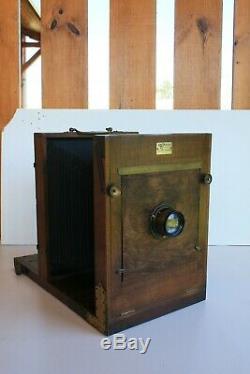 Chambre photographique d'atelier 13X18