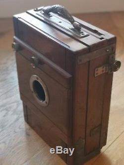 Chambre photographique de voyage 13x18, Ca. 1900