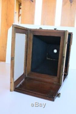 Chambre photographique en bois photos 1900