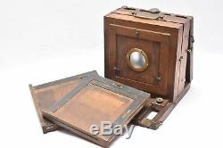 Chambre photographique époque collodion 13x18