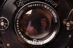 Chambre photographique tropicale 13 x 18 Zeiss-Ikon Tropica