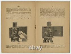 Cinématographe Auguste et Louis LUMIÉRE Notice dinstruction en italien 1897