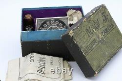 Coffret DEMON Detective Camera N°1 AMERICAN CAMERA Mfg Co Londres GB Vers 1889