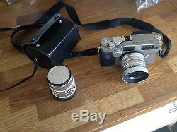 Contax G2 35mm Rangefinder Film Camera With Carl Zeiss 45mm + 90mm