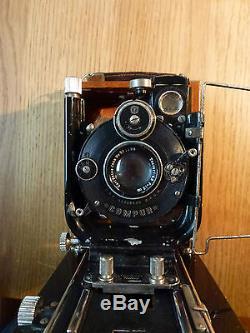 Contessa Nettel Tropenkamera 6x9cm Edelholz, tropical camera Holzkamera