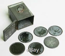 DANDYCAM, Butcher, ferrotype, tintype, 1913, rare