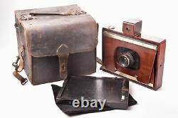DARLOT appareil photographique 13x18 à ailettes