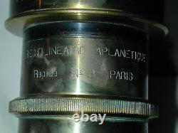 DEMARIA LAPIERRE CHAMBRE BOIS acajou 18x24 cm avec objectif photo photographie