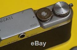 DUCATI Simplex 18x24 con filtro giallo e tappo in metallo +caricatore pellicola