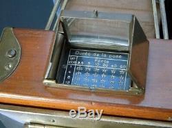 ERNEMANN TROPPEN KLAPP 6,5 X 9 cm DRESDEN ALLEMAGNE circa 1920