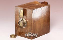 Emil Wünsche Camera aus Nussbaumholz Lilly 6,5x9 1903