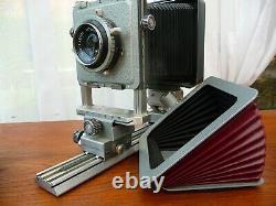 Ensemble de matériel photographique à soufflet