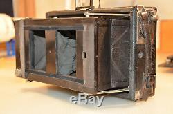 Ernemann Suter Klapp Camera Stereo (Model III) c. 1903