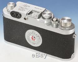 Ernst Leitz Leica Leica IIg N°825444 Elmar 3,5/5 cm red scale N°1086870