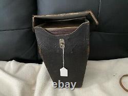 Extremely rare SIGRISTE French Hand Magazine camera + original bag ca 1899