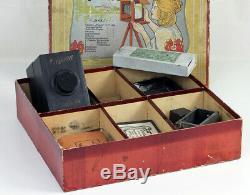 FAMOS Box Format des plaques 6 x 9 cm Fabrication allemande Vers 1910