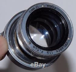 FOCA UNIVERSEL R + Objectif OPLAREX 1,9/50 mm France (voir description)