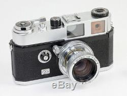 FOCA Universel R Objectif Oplarex 1,9/50 mm OPL Levallois France Vers 1962