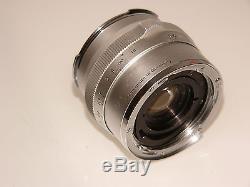 Für Contarex Carl Zeiss Distagon 4/35mm