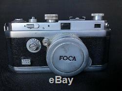 Foca Pf3 Appareil Photo Argentique Objetctif Oplar 128 F= 5 CM N° 79707 C1593
