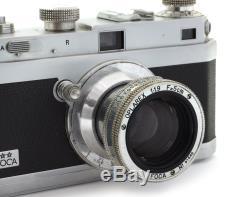 Foca Rangefinder Film Camera #304.082 with Oplarex 1.9/50mm