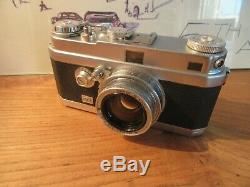Foca Universel R + Oplarex 11.9 F=5 French Leica
