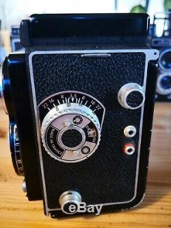 French Semflex with excellent Berthiot Flor 75/3.5 Rolleiflex, TLR