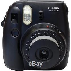 Fuji Fujifilm Instax Mini 8 Instant Film Photo Polaroid Camera BLACK -EU
