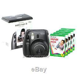 Fuji instax mini 8 black Fujifilm instant camera + 50 film