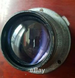 GAUMONT 13x18 5x7in mahogany camera + lens BOYER Saphir 4.5 210mm large format