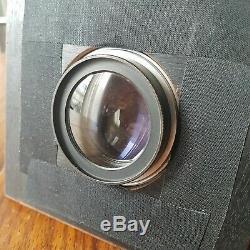 GAUMONT 13x18 mahogany camera + lens BOYER Saphir 4.5 210mm large format