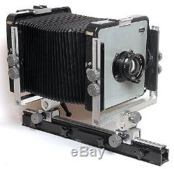 GOOD LOOKING LARGE ARCA SWISS MONORAIL CAMERA WITH ROSS WIDE ANGLE LENS