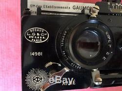 Gaumont Spido Roussel Appareil Photo Jumelle Stereo