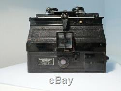 Gaumont Stereo Zeiss Tessar 84/6.3 Vintage Stereo Collectible French Camera