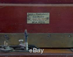 Gaumont Wooden Camera 18x24 with Boyer Saphir B 4.5/210mm