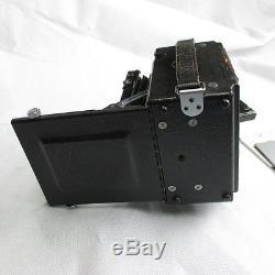 Graflex Speed Graphic 4x5 inch / 9x12 cm Optar 4,7 135mm