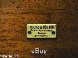 Große Holzkamera 30x40 cm von Glunz & Bülter, Hannover